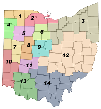 Ohio District Map